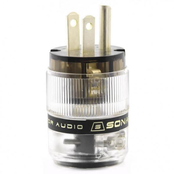 SonarQuest ST-AgP(D) CRYO AG Silver Plated Series Audio Grade AC Power Plug Connector