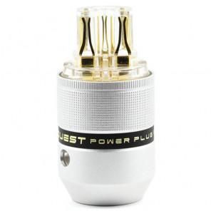 SonarQuest C25-G(T) Aluminum Alloy Gold Plated Series Audio Grade IEC AC Power Plug Connector