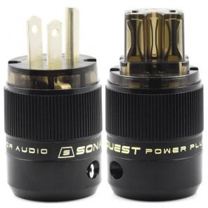 SonarQuest SE-AgP(D) & SE-AgC(D) CRYO AG Silver Plated Series Audio Grade AC Power Plug Connector