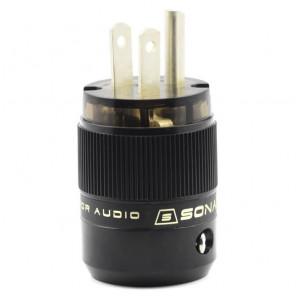 SonarQuest SE-AgP(D) CRYO AG Silver Plated Series Audio Grade AC Power Plug Connector