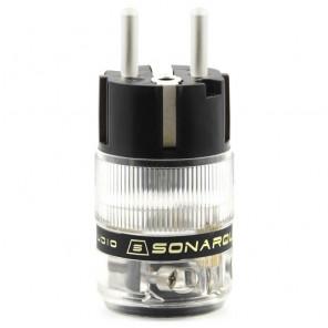 SonarQuest ST-AgE(D) CRYO AG Silver Plated Series Audio Grade EU Schuko Power Plug Connector