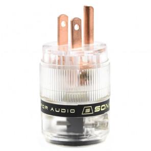 SonarQuest ST-RP(T) Red Copper Series HiFi Audio Grade AC Power Plug Connector
