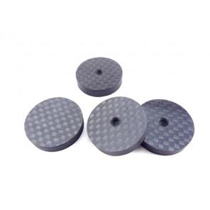 SonarQuest SQ-DP011 Hiend performance Carbon Fiber Speaker foot isolation gaskets
