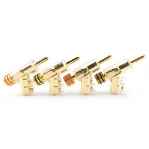 SonarQuest SQ-QT11 24k Gold plated Series Hi-Fi Lock Banana Plug Connector