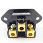 SonarQuest SQ-I03(G) Gold Plated Pure Transmission IEC Input Connectors